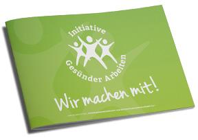 Download IGR-Broschüre Gesünder Arbeiten